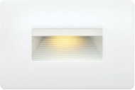 Hinkley 15508SW Luna Contemporary Satin White LED Outdoor Landscape Light Fixture