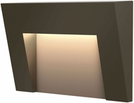 Hinkley 1553BZ Taper Contemporary Bronze LED Outdoor Step Light