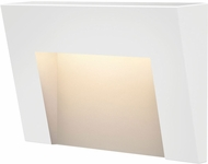 Hinkley 1553SW Taper Modern Satin White LED Exterior Step Light