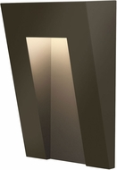 Hinkley 1556BZ Taper Contemporary Bronze LED Outdoor Step Light