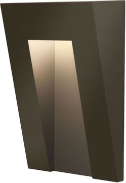 Hinkley 1556bz Taper Contemporary Bronze Led Outdoor Step