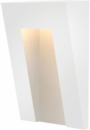 Hinkley 1556SW Taper Modern Satin White LED Exterior Step Light