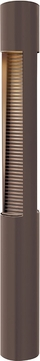 Hinkley 15609BZ Luna Contemporary Bronze Halogen Outdoor Landscaping Light Bollard