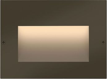 Hinkley 1563BZ Taper Contemporary Bronze LED Outdoor Step Light