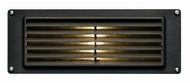 Hinkley 1594BZ Deck & Step Cast Aluminum Louvered Brick Light