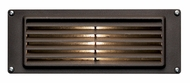 Hinkley 1594BZ-LED Deck & Step Cast Aluminum Louvered LED Brick Lighting
