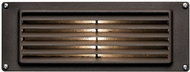 Hinkley 1594BZ-LL Deck Louvered Modern Dark Bronze / Light Bronze LED Outdoor Wall Lighting