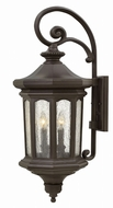 Hinkley 1605OZ Raley Traditional Oil Rubbed Bronze Outdoor Wall Light Fixture