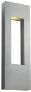 Hinkley 1639TT Atlantis Contemporary Titanium Halogen Exterior Sconce Lighting