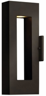 Hinkley 1640BZ-LED Atlantis Modern Bronze LED Exterior Lighting Sconce