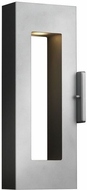 Hinkley 1640TT-LED Atlantis Contemporary Titanium LED Outdoor Wall Light Fixture