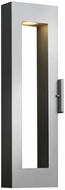 Hinkley 1644TT-LED Atlantis Modern Titanium LED Outdoor Wall Mounted Lamp