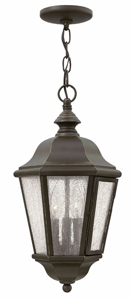Hinkley 1672oz Edgewater Traditional Oil Rubbed Bronze Outdoor Pendant Light Loading Zoom