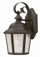 Hinkley 1674OZ Edgewater Traditional Oil Rubbed Bronze Exterior Wall Lighting Sconce