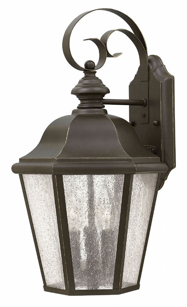Hinkley 1676oz Edgewater Traditional Oil Rubbed Bronze Exterior Wall Mounted Lamp Hin 1676oz