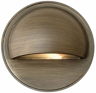 Hinkley 16801MZ-LED Hardy Island Contemporary Matte Bronze LED Exterior Step Lighting