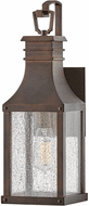 Hinkley 17460BLC Beacon Hill Vintage Blackened Copper Outdoor Wall Lighting Sconce
