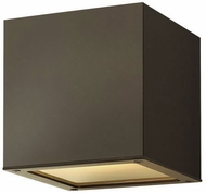 Hinkley 1769BZ Kube Contemporary Bronze LED Outdoor Wall Sconce