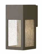 Hinkley 1780BZ-LL Rook Contemporary Bronze LED Exterior Small Wall Lighting