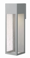 Hinkley 1788TT Rook Modern Titanium Halogen Outdoor Extra Large Lamp Sconce