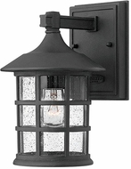 Hinkley 1800BK Freeport Black Exterior Lighting Wall Sconce