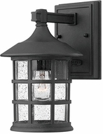 Hinkley 1800BK-LED Freeport Black LED Outdoor Wall Lighting Sconce