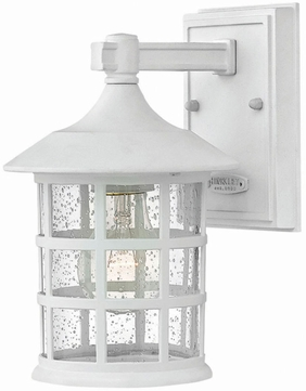 Hinkley 1800CW-GU24 Freeport Classic White Fluorescent Exterior Wall Lighting Fixture