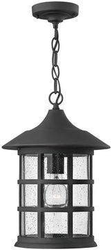 Hinkley 1802BK-LED Freeport Black LED Exterior Pendant Lighting Fixture