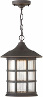 Hinkley 1802OZ-LED Freeport Oil Rubbed Bronze LED Outdoor Pendant Hanging Light