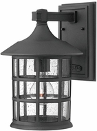Hinkley 1804BK-LED Freeport Black LED Outdoor 8  Wall Light Sconce