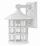 Hinkley 1804CW-GU24 Freeport Classic White Fluorescent Outdoor Wall Sconce