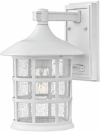 Hinkley 1804CW-LED Freeport Classic White LED Exterior 8  Wall Sconce Light