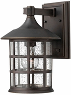 Hinkley 1804OZ Freeport Oil Rubbed Bronze Outdoor 8  Wall Lighting