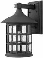 Hinkley 1805BK Freeport Black Outdoor 10  Light Sconce