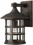 Hinkley 1805OZ Freeport Oil Rubbed Bronze Outdoor 10  Wall Light Fixture