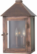 Hinkley 18204AP Thatcher Antique Copper Exterior Wall Light Sconce