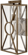 Hinkley 18374BU Brixton Contemporary Burnished Bronze Outdoor Wall Sconce Lighting