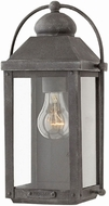 Hinkley 1850DZ Anchorage Aged Zinc Outdoor Lighting Sconce
