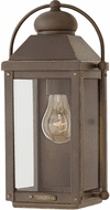 Hinkley 1850LZ-LL Anchorage Vintage Light Oiled Bronze LED Exterior Wall Sconce