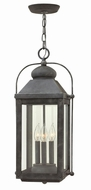 Hinkley 1852DZ Anchorage Traditional Aged Zinc Outdoor Hanging Lamp