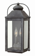 Hinkley 1854DZ Anchorage Traditional Aged Zinc Exterior Wall Lamp