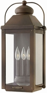 Hinkley 1855LZ Anchorage Light Oiled Bronze Exterior Wall Light Fixture