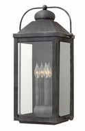 Hinkley 1858DZ Anchorage Traditional Aged Zinc Exterior Sconce Lighting