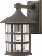 Hinkley 1865OZ Freeport Oil Rubbed Bronze Exterior 15 Wall Sconce Light