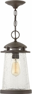 Hinkley 1882OZ Tatum Contemporary Oil Rubbed Bronze Outdoor Hanging Light Fixture