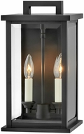 Hinkley 20010BK Weymouth Modern Black Outdoor 14  Lighting Sconce