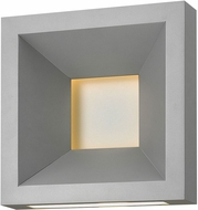 Hinkley 20300TT Plaza Contemporary Titanium LED Outdoor Wall Sconce Lighting