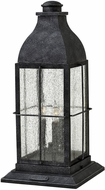 Hinkley 2047GS-LV Bingham Traditional Gray LED Outdoor Pier Mount