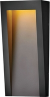 Hinkley 2144TK Taper Contemporary Textured Black LED Outdoor Wall Lamp