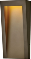 Hinkley 2144TR Taper Modern Textured Oil Rubbed Bronze LED Exterior Wall Lighting